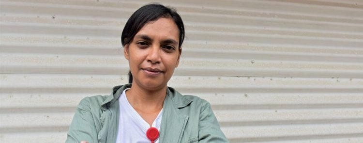 Voices from the frontline: Zevonia Vieira