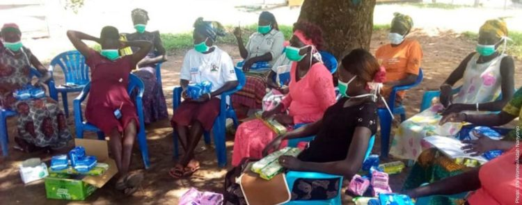 Women peace mediators become key actors on the frontlines of COVID-19 prevention in refugee settlements in Uganda