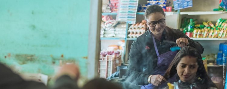 Grooming her business: a beautician-turned entrepreneur's story from Nepal