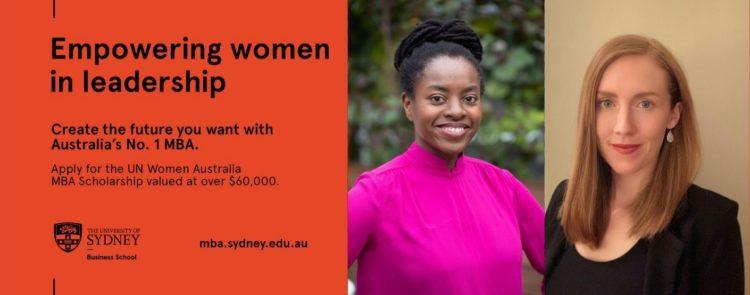 Meet our new UN Women Australia MBA scholarship recipients