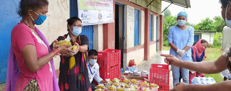 Women-managed community kitchens support vulnerable women in Nepal